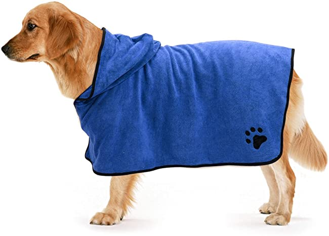 Hundebademantel-Test